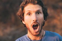 Warrenty (ManonOfTheSprings) Tags: california topanga portrait 50mm 12 50mm12 canon 5d 5dmarkiv warren rawchocolate hiking happiness