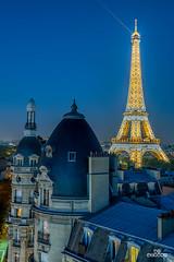 Paris mon amour :) (brenac photography) Tags: paris ledefrance france fr toureiffel eiffeltower eiffel cityscape europe blue bluehour haussman building night d810 nikon sigmaart sigma brenac brenacphotography hdr oloneo