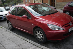 Peugeot (Jusotil_1943) Tags: coche auto cars redcars hierro