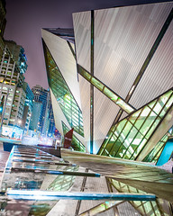 Toronto ROM (Insight Imaging: John A Ryan Photography) Tags: toronto ontario night royal rom museam
