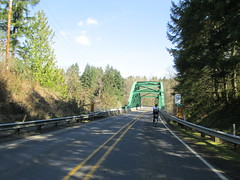 Clackamas River bridge by Barton (Lynne Fitz) Tags: bicycle oregon sweetpea 100k permanent populaire randonneur