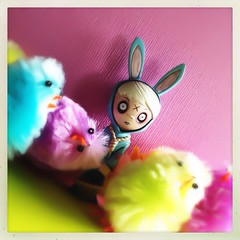 Happy Easter! (welovethedark) Tags: easter livingdeaddolls hipstamatic