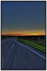 Badlands Natl. Park South Dakota 2011 (PJKamp) Tags: park usa moon america nikon south sunsets crescent national badlands 1855 dakota hdr dx photomatix d300s