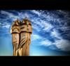 Casa Milà - Nr. 3 - Chimneys (LaTietze) Tags: barcelona españa photoshop spain europa europe bcn gaudi catalunya hdr casamilà topaz antonigaudi eixample photomatix tonemapping abigfave nikond7000 mygearandme mygearandmepremium mygearandmebronze mygearandmesilver mygearandmegold mygearandmeplatinum rememberthatmomentlevel1 rememberthatmomentlevel2