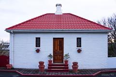 Hús í Hafnarfirði - A house in Hafnarfjörður, Iceland (eirikurtor) Tags: door houses red canon iceland hafnarfjörður ísland rautt hús hurð canoneos7d canonefs1585mmf3556usmis