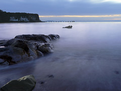 WHAT DAWN REVEALS (sea monster) (kenny barker) Tags: longexposure explore aberdour panasoniclumixgf1 hawkscraigjettyaberdour kennybarker