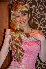 Princess Aurora (EverythingDisney) Tags: princess disneyland disney aurora newdress dlr sleepingbeauty princessaurora royalhall fantasyfaire