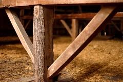 Hewn (DevilDucMike) Tags: wood tree abandoned barn log nikon dof bokeh timber beam d600 hewn milled devilducmike