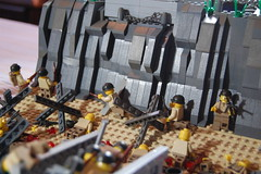 Normandy (~Dr.Brick~) Tags: world 2 two war lego wwii ii german american normandy invasion