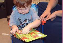 opening gifts 4 (*Melanie*) Tags: birthday grayson age2