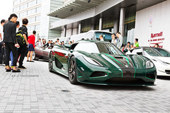 Koenigsegg Agera S (- Icy J -) Tags: road street morning green cars car club race dark hongkong drive md unique sunday group large fast special hong kong exotic stealth annual carbon loud meet supercar fibre smd hypercar