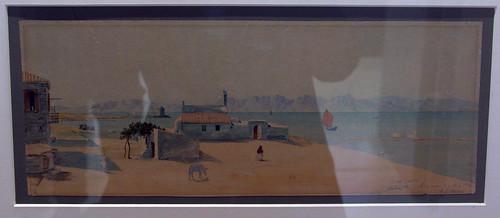 """Aegina island in 1862"", Ernst Ziller"