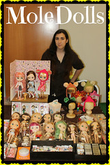 Me & My Stall in BlytheCon Barcelona