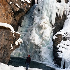 (hatman003) Tags: winter snow canada ice frozen waterfall alberta banff banffnationalpark johnstoncanyon