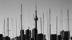 (Melissa Godbout) Tags: city toronto boats harbor view portlands