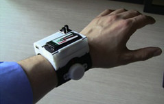 "Haptic Vibrotactile Wristband • <a style=""font-size:0.8em;"" href=""http://www.flickr.com/photos/95191479@N02/8677967400/"" target=""_blank"">View on Flickr</a>"