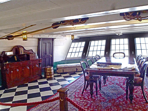 Captains quarters