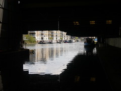 The Canal at Brentford (cdb41) Tags: canal lock union grand brent hounslow brentford gauging