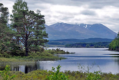 Across the Loch to Ben (Grisley Two at Ipernity now) Tags: mountains scotland highland bennevis loch a200 lochlochy
