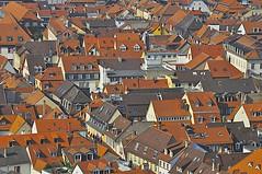 ber den Dchern von Heidelberg (Lispeltuut) Tags: city sky river germany nikon himmel roofs heidelberg neckar sincity odenwald badenwrttemberg dcher flus lispeltuut nikond5000