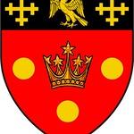 A.D. 1876 - St. Stephen's House, Oxford University, coat of arms thumbnail