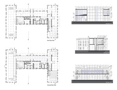 Plans_Sections (CSondi) Tags: architecture studio island design ruin center roosevelt institute visitor renwick pratt