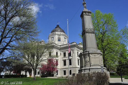 Monroe County Courthouse, Bloomington Indiana