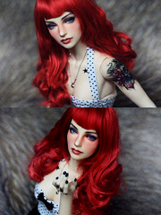 return of the red.1 (devolvedarling) Tags: carina bjd iplehouse