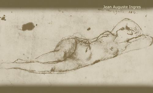 """Genealogía de las Soñantes, versiones de Lucas Cranach el Viejo (1534), Giorgione (1510), Tiziano Vecellio (1524), Nicolas Poussin (1625), Jean Auguste Ingres (1864), Amadeo Modigliani (1919), Pablo Picasso (1920), (1954), (1955), (1961). • <a style=""""font-size:0.8em;"""" href=""""http://www.flickr.com/photos/30735181@N00/8746825959/"""" target=""""_blank"""">View on Flickr</a>"""