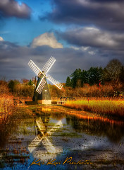 The X-Factor (Kris Kros) Tags: uk trees england sky reflection mill nature water windmill grass clouds photoshop movie photography pond europe village wind britain thomas song reserve rosa windmills x your national mind watershed trust kris crown fen bushes factor affair hdr cambridgeshire soundtrack kkg wetland mcneely ashby the xfactor wicken thexfactor photomatix kros kriskros thewindmillsofyourmind kkgallery