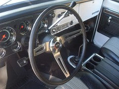 71K5Blazer_2k_wheel (Monaco Luxury) Tags: auto bar 1971 ps pb stereo chevy 350 roll custom blazer resto k5 pristine frameoff