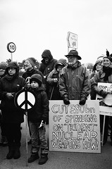 Scrap Trident now - stop fooling with nuclear weapons (tonalidadesdecian) Tags: uk for march peace military protest nuclear awe quotpeace weapons nuclearpower placards trident cnd nuclearenergy 2013 symbolquot scraptrident cuttrident quotcampaign disarmamentquot timetoscraptridentstopfoolingwithnuclearweapons aldermastonweaponsestablishment