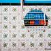 Mirrow on a shop wall, Ouarzazate, Morocco