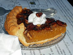 Pecan Pie Elm Circle Restaurant. (dccradio) Tags: food ny newyork dinner pie dessert lunch upstateny whippedcream eat meal sweets supper pecanpie whippedtopping westville sliceofpie northernny pieceofpie elmcirclerestaurant