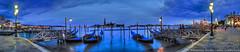 Venedig Panorama (© www.borais.com) Tags: travel italien venice italy panorama urlaub panoramas landmark gondola sight venedig gondolas panoramicview gondeln panoramabilder venetien venicepanorama nordostitalien