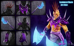 Anti-Mage Illusion of Death Items (shushibah) Tags: 2 game death belt steam workshop armor weapon shoulder anti mage manta dota offhand illsion antimage dota2