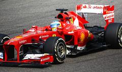 Shanghai F1 2013 (Adon Buckley) Tags: red car shanghai grand f1 prix formula 2013 gandprix