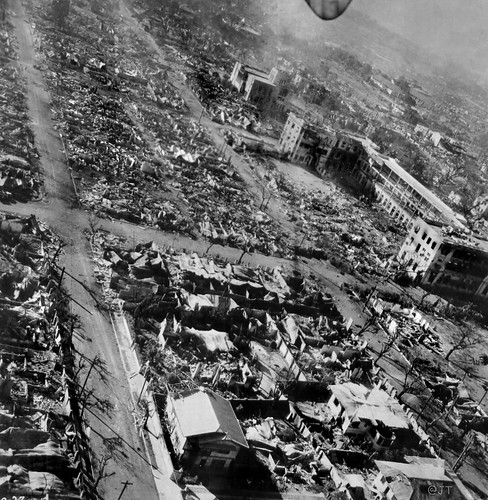 Manila, Philippines WWII damage, February 15, 1945 (1)