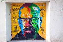 - Breaking Bad street art - (louisrigaud) Tags: barcelona art street grafitty heisenberg breakingbad