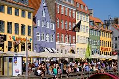 Nyhavn Copenhagen (Hkan Dahlstrm) Tags: 2016 architecture canal copenhagen danmark denmark house kpenhamn nyhavn people photography yellow kbenhavn xe2 f56 11400sek xf1855mmf284rlmois uncropped 13324072016154930 kbenhavnk dk