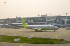 Jin Air 737-800 (A. Wee) Tags: korea  incheon airport  seoul  jinair boeing 737 737800
