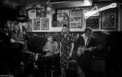 Sister Suzie (peterphotographic) Tags: 20160812222115sefexedwm apple iphone 6s peterhall silverefexpro2 blackandwhite bw monochrome music livemusic live gig concert blues singer guitarist guitar bass night nightlife latenight aintnothinbutthebluesbar bluesbar sistersusie
