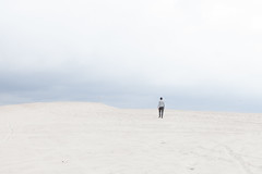 untitled (10 of 11) (Johann Kp) Tags: estonia sand quarry mine minimal bright light pastel mood moody minimalism canon 5d mk2 2470 cloudy available artificial landscape explore self portrait silhouette distant distance