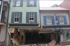 Ellicott City Flood Recovery, damaged buildings (presmd) Tags: buildings ellicottcity ellicottcitymainstreet maryland restorations sixtofix stabilizations storefronts howardcountymd usa