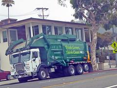 WM Garbage Truck 8-8-16 (Photo Nut 2011) Tags: california garbage trash sanitation wastedisposal waste junk truck garbagetruck trashtruck refuse wastemanagement wm orangecounty highway1 211797