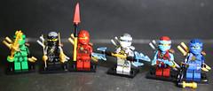 MU3A8611 (lbaswjk3ja) Tags: jay kai cole knockoff fake bricks building toy figure mini nya lloyd nrg ninja