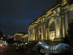 Metropolitan Museum of Art Night Fountains 5042 (Brechtbug) Tags: metropolitan museum art lobby exterior facade front entrance stairs outside building new york city summer 09102016 nyc cityscape east skyline urban afternoon july 2016 arts gallery buildings sculpture architecture statue crowd crowds met museums manhattan uptown 5th ave fifth avenue arch arches nite night time evening fountain fountains