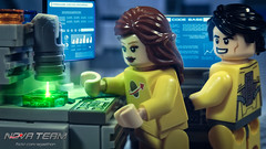 Firmware (Agaethon29) Tags: lego afol legography brickography legophotography minifig minifigs minifigure minifigures toy toyphotography macro cinematic 2016 legospace neoclassicspace spaceman classicspace space scifi sciencefiction ncs novateam customminifigure