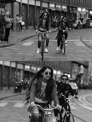 [La Mia Citt][Pedala] (Urca) Tags: milano italia 2016 bicicletta pedalare ciclista ritrattostradale portrait dittico nikondigitale mir bike bicycle biancoenero blackandwhite bn bw 88968