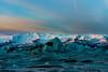 Blue Ice Dawn (Marshall Ward) Tags: jökulsárlón iceland ice icebergs icebeach landscape winter dawn sunrise marshallward mwardphotographycom nikond800 afszoomnikkor2470mmf28ged